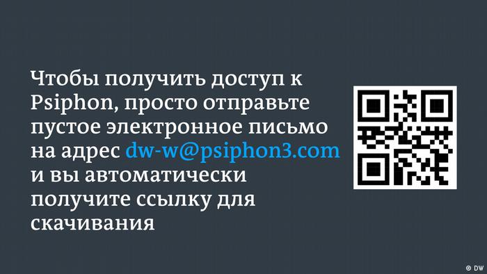 Используйте QR-Code или пустой email