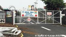 DR Kongo Krankenhaus Level III Indian Field in Goma
