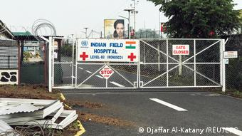 DR Kongo Krankenhaus Level III Indian Field in Goma
