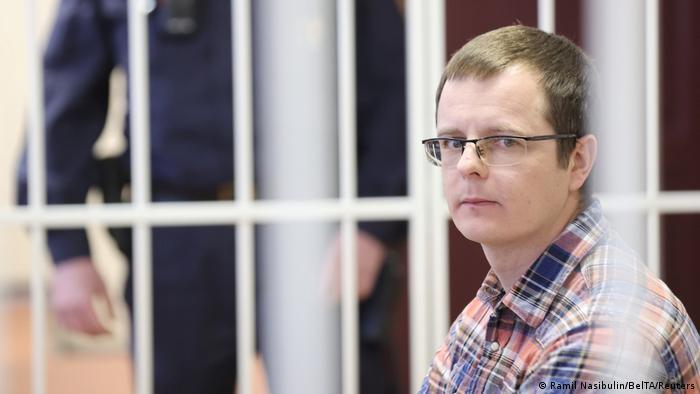 Білоруський лікар Артем Сорокін в залі суду