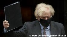 UK Boris Johnson Unterhaus Rede