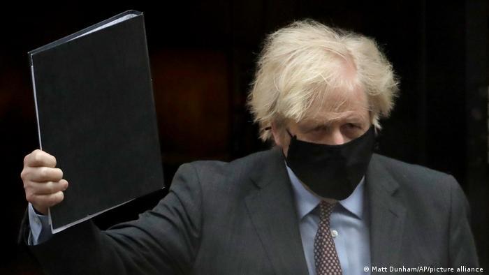 UK Boris Johnson Unterhaus Rede