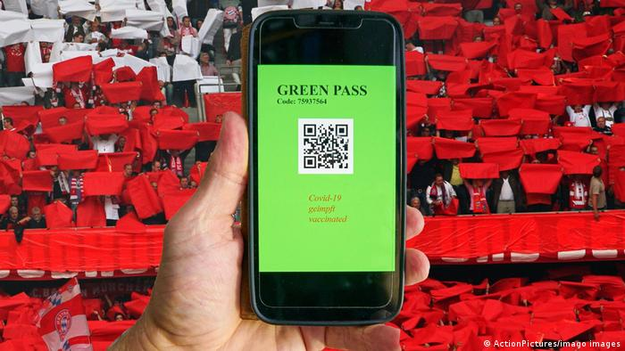 A digital green pass for vaccinated people