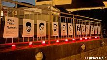 Deutschland | Unbekannte zerstören Gedenkort für Opfer von Hanau in Köln