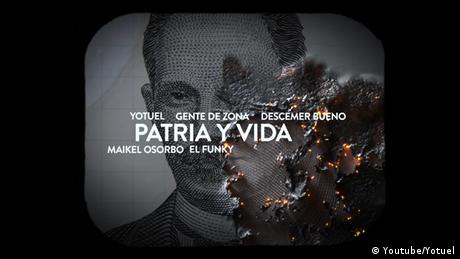 Screenshot Youtube - Musikvideoclip Patria y Vida