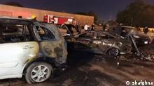 Irak Raketenangriff auf grüne Zone in Bagdad