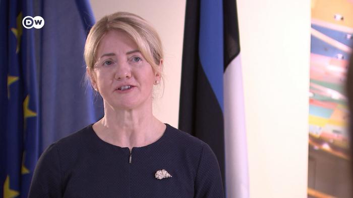 Eva-Maria Liimets in an interview