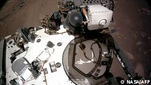 Навигационные камеры марсохода Perseverance, февраль 2021