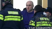 Georgien Tbilisi | Protest der Opposition | Verhaftung Nika Melia, Oppsotioneller