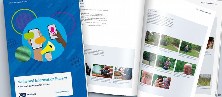 DW Akademie Mockup / MIL Guidebook