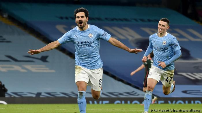 Futebol Inglaterra Manchester City Ilkay Gundogan