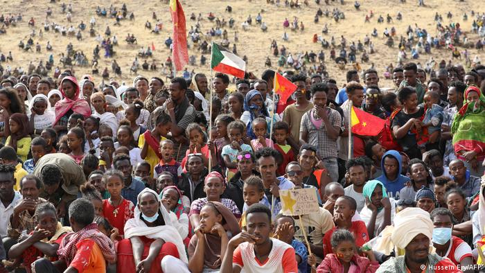 Thousands of refugees from Tigray have fled to Sudan