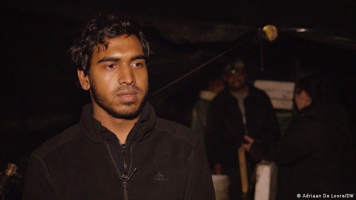 Migrant iz Bangladeša Jahanjir Alom Sumon