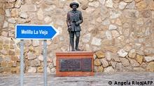Spanien Melilla Franco-Statue