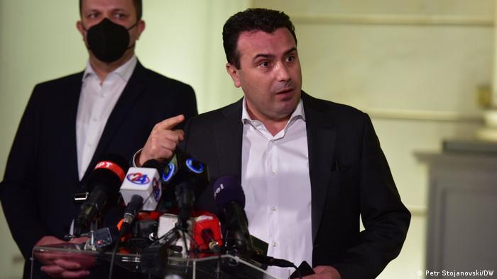 Nord-Mazedonien PK Premierminister Zoran Zaev