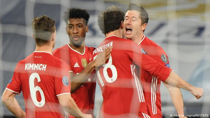 Champions League Lazio Rom gegen Bayern München | Jubel Lewandowski