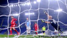 Champions League Lazio Rom gegen Bayern München | Tor Sane