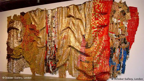 In the world but don't know the world (2009), by El Anatsui