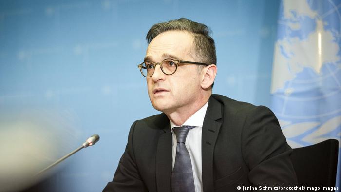 أرشيف: وزير الخارجية الألماني هايكو ماس (23 فبراير/ شباط 2021)
