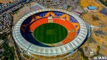 Indien Ahmedabad Motera Stadion