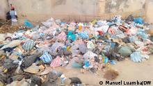 Bild 3: Wie profitieren einige von den Müllbergen? Foto: Manuel Luamba/DW, 24.03.2021, Luanda, Angola