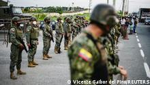 Weltspiegel 24.02.2021 | Ecuador Gefängisaufstand | Soldaten vor dem Gefängnis in Guayaquil