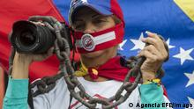 Venezuela Symolbild Pressefreiheit