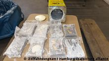 Hamburger Zoll stellt mehr als 16 Tonnen Kokain sicher