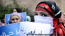 Ägypten Frauenproteste