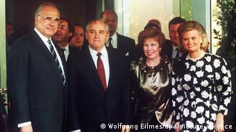 Βόννη 1989, Χέλμουτ Κολ, Μιχαήλ Γκορμπατσόφ