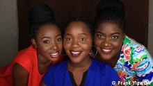 77Percent Uganda | Young African women and make-up