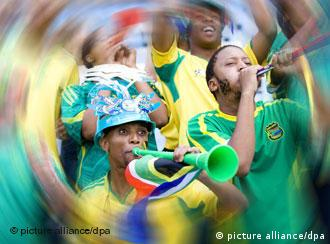 South African fans are celebrating