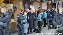 Deutschland Besetzung des griechischen Konsulats von Demonstranten
