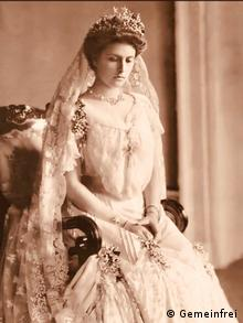 Алиса фон Баттенберг перед свадьбой