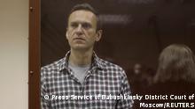 Russland Gerichtsprozess gegen Kremlkritiker Nawalny