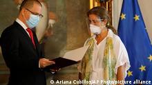Venezuela Isabel Brilhante erhält persona non grata Brief von Jorge Arreaza