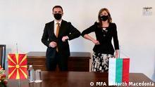 Bulgarien Bujar Osmani und katerina Zaharieva