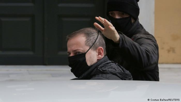 Griechenland Festnahme Dimitris Lignadis