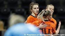 Frauen Fußball Freundschaftsspiel Niederlande - Deutschland | Jubel Niederlande