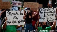 Panama Protest gegen Fürsorgeeinrichtung der Regierung