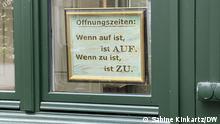 Deutschland Monschau in der Eifel im Lockdown