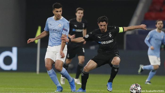 Champions League | Borussia Mönchengladbach vs Manchester City