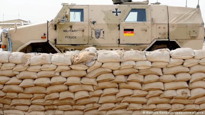 Soldados alemanes en Afganistán.