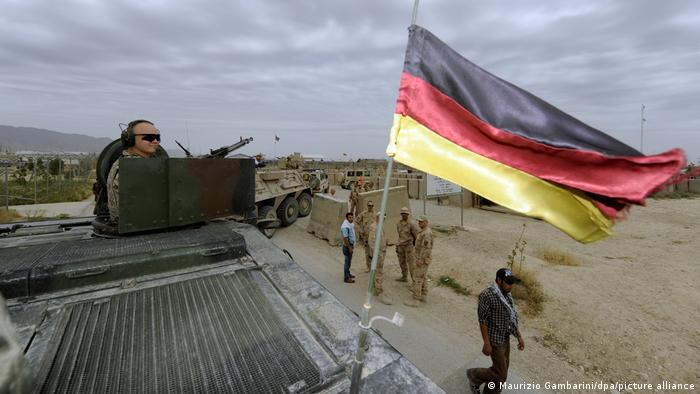 Bundeswehrsoldaten bei Masar-Scharif