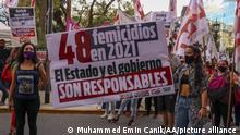 Argentinien I Protest nach dem Mord an Ursula Bahillo