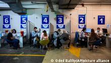 Israel I Israelis werden mit dem Vakzin von Pfizer-BioNTech geimpft