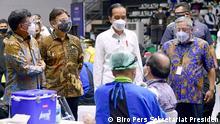 Indonesien Jakarta | Coronavirus | Impfprogramm für Journalisten