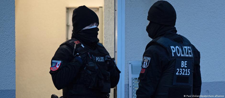 Deutschland Berlin | Razzia, Zusammenhang Verbot der Jihad-salafistischen Vereinigung Jama'atu