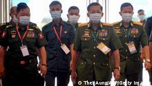 Myanmar Naypyidaw 2020 | General Min Aung Hlaing u.a.