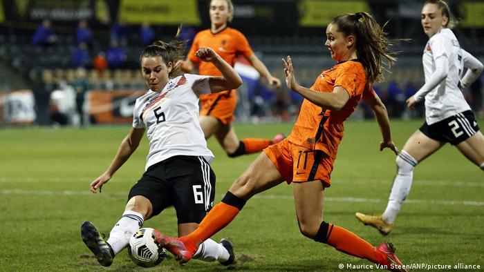 Fußball der Frauen | Freunschaftsspiel: Deutschlan v Niederlande